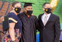 TCS student graduation