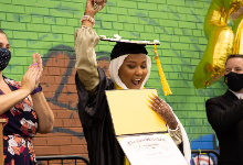 TCS students graduation