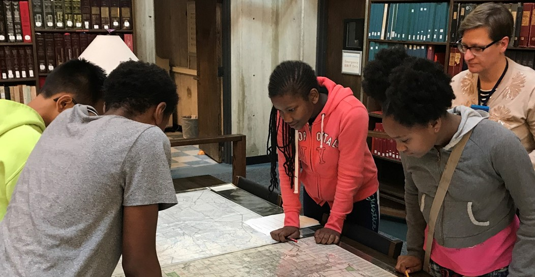 7th grade students at the Ohio History Connection.