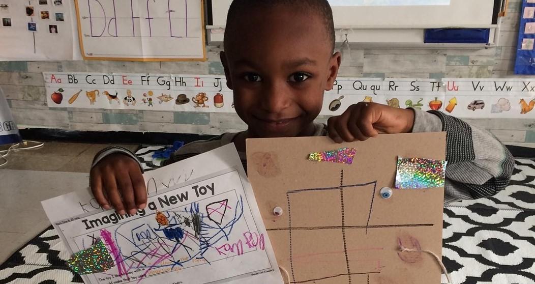 GEMS kindergarten student